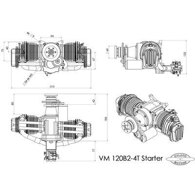 Valach Motors VM 120 B2-4T, 120 ccm with starter, 2.599,00 € on x4 engine, f117 engine, e10 engine, r4 engine, b10 engine, bb1 engine, b2l engine, b20 engine, x1 engine, b7 engine, t37 engine, beta 2 engine, s12 engine, y4 engine, l19 engine, b80 engine, f4 engine, b38 engine, z5 engine, r6 engine,