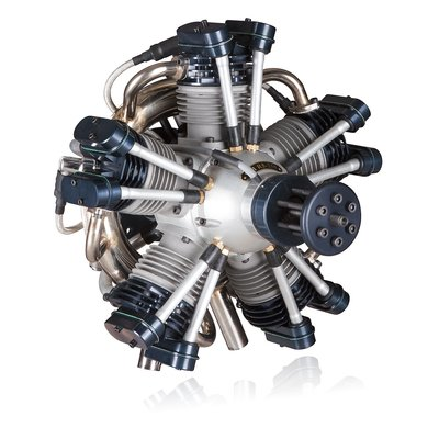 Valach Motors VM R5-250 radial engine