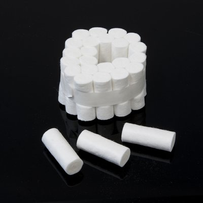 Cotton rolls 25 pcs., for the oil absorption on the Valach engines