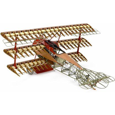 Fokker Dr. 1 Standmodell 1:16 Museumsscale Bausatz